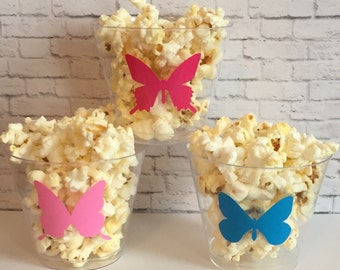 Butterfly Party Snack Cups Set of 12