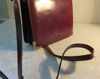 Vintage 1970's Italian Satchel Style Handbag - Truly BEAUTIFUL!!