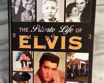 The Private Life of Elvis Book/ Wall Clock