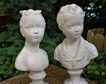 Vintage Garden Statue, Solid Plaster, French Statue, English Garden, French  Conservatory,