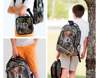 Back to School 2016 - Backpack & Lunchbox - Woods