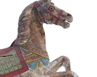 19th Century German Carousel Horse by Friedrich Heyn