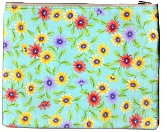 Echinacea Zipper Purse (SKP-041)
