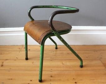 Mid century Mullca model 300 French children's chair