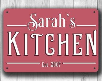 CUSTOM KITCHEN SIGN, Customizable Kitchen Sign, Classic Kitchen Sign, personalized kitchen sign, Kitchen Decor, Kitchen Wall Decor, Kitchen