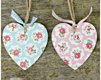 Decorative Hanging Wooden Heart