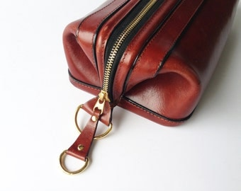 Old Leather Utilikit by Bosca