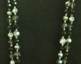 Cookie Lee Faceted Glass Bead Necklace