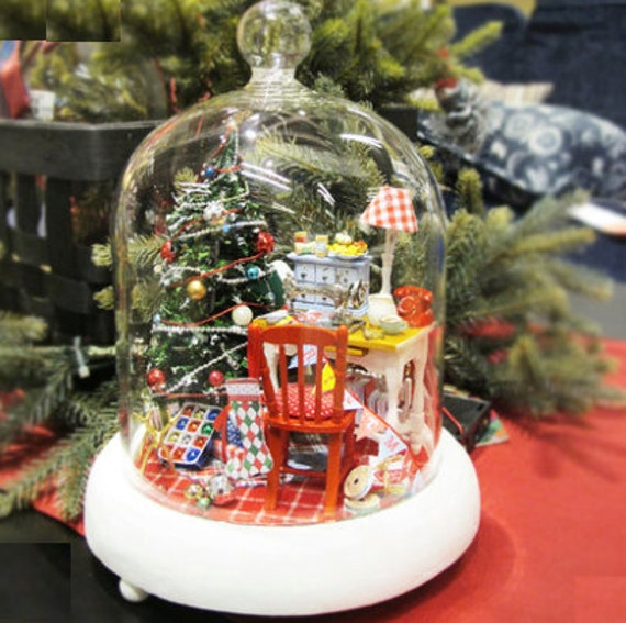 Christmas Sale !! DIY Light Up Merry Christmas Miniature Dollhouse With Music Box | Christmas Gift | Christmas Decorations