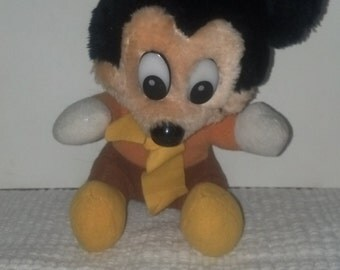 vintage Christmas Mickey Mouse