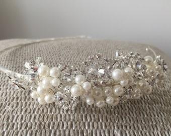 Bridal Side Hairband Tiara