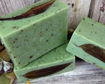 Fresh Eucalyptus Natural Handmade Cold Process Soap