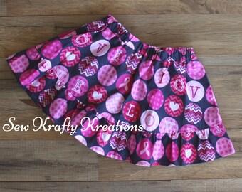 24months/2T Valentine Skirt