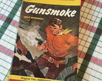1950 First Printing Gunsmoke Signet Book