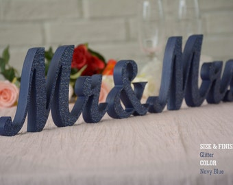 Mr and Mrs, Wedding Decor