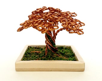 Small Copper Wire Oak Tree #2