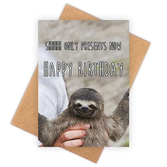 Happy birthday sloth meme - photo#54