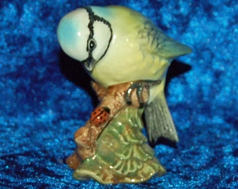 Beswick Blue Tit 992 Bird Ornament Garden Birds Figurine Blue Tit Figurine