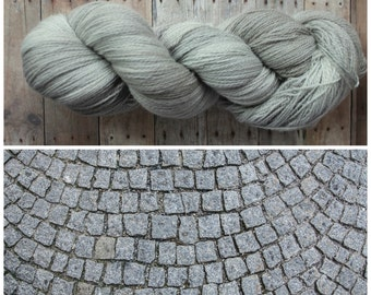 Hand Dyed Lace Yarn - Cobblestone