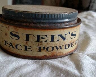 Vintage Stein's Cold Cream tin