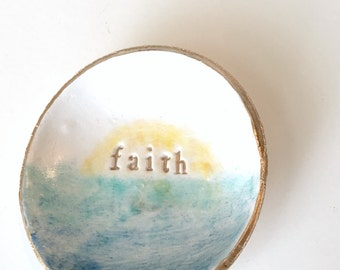 Faith Jewelry/Trinket Dish