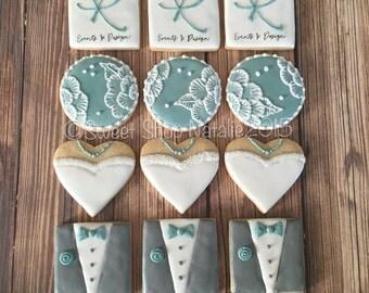Wedding/Bridal Shower Cookies