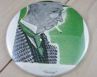 "George 3.5"" Pocket Mirror"