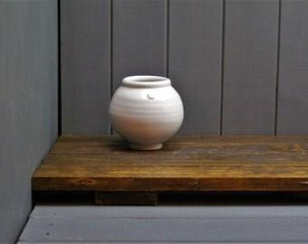 Globe Jar- hand made pottery