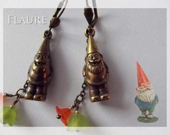 Earrings Garden Gnome