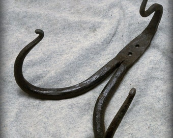 Devil's Claw Hand Forged Coat Hook