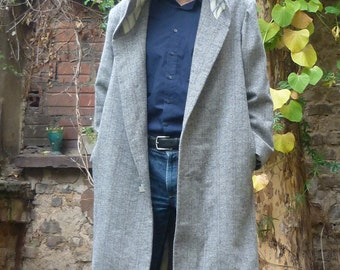 PDF sewing pattern for sewing Menscoat Ralph with Hoodie  e-book sewing instructions