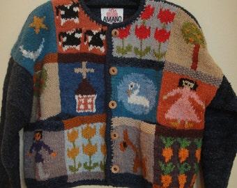 Vintage 100% Wool sweater
