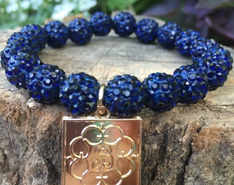Navy Elise bracelet