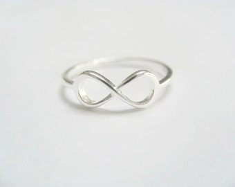 Infinity Ring Sterling Silver - Small Infinity