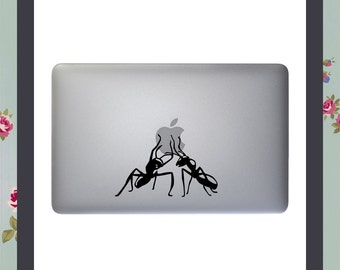 Mac Decal, Carried Away, Apple Macbook and other laptop, iPad Decal, iPad Stickers