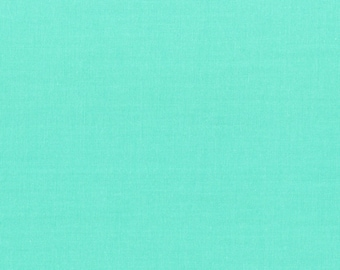 Modern Solid - Turquoise (101) by In The Beginning Quilt Fabric Sewing Fabric