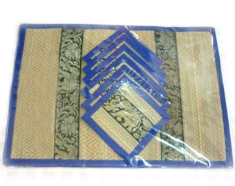 Thai Handmade,handmade Products, Reed Placemat 24 X 35 Cm.