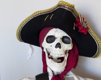 Pirate Hat Tricorn Custom Made