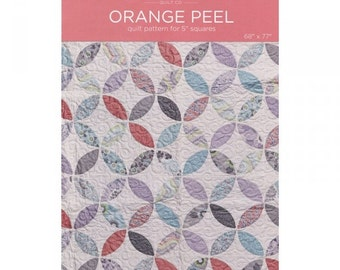 Orange peel Template and Quilt Pattern by the Missouri Star Quilt Company