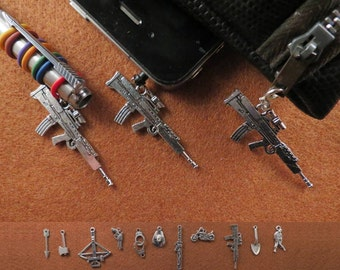 Zombie Apocalypse  charm accessories gift set (pen charm, phone charm and zip pull).