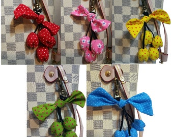 Flowers Floral Charms for Louis Vuitton  LV & other Handbags Purse - Handmade