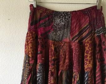 Vintage 1980s Long Skirt