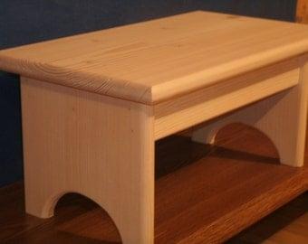 Wood step stool wooden step stool 7 1/2   wooden stool & Wooden stool | Etsy islam-shia.org
