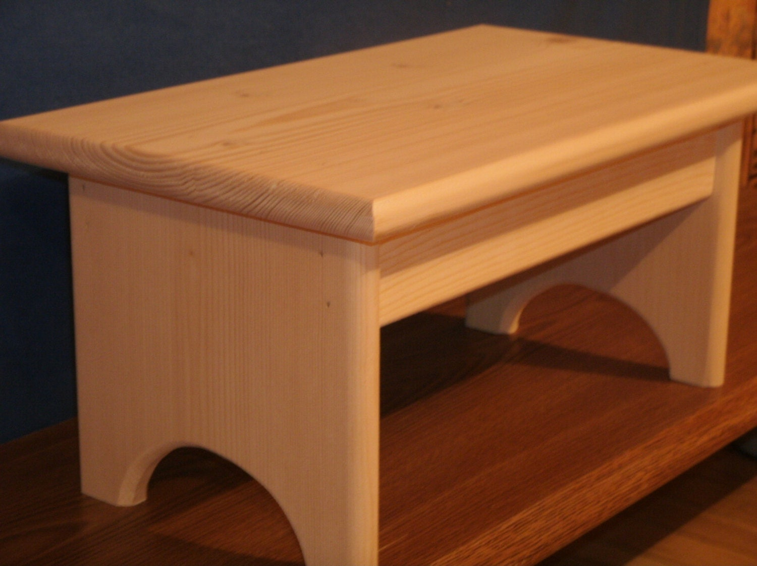 Wooden Step Stool ~ Wood step stool wooden
