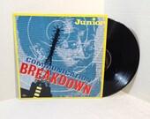 Junior vintage vinyl record - Communication Breakdown Maxi Single OOP || 80's Funk Disco