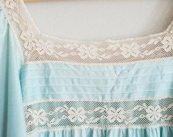 Gorgeous light blue silky shirt