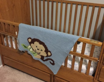 Clearance Price! Monkey Blanket