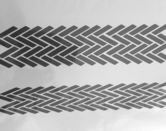 Stencil pattern 3.5. A4