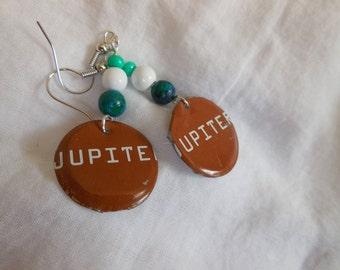 Bell's Brewing Jupiter Beer Earrings