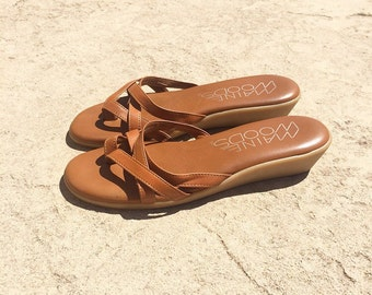 70s Maine Woods summer wedges 7